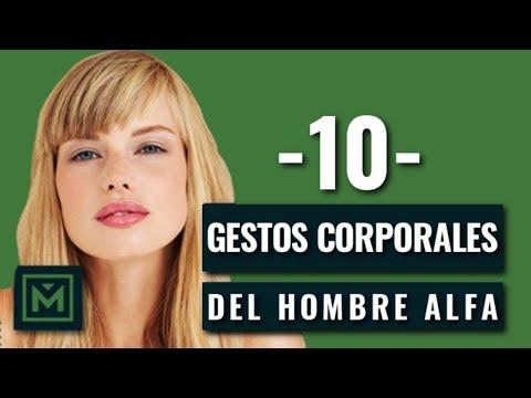 10 trucos de lenguaje corporal del hombre Alfa