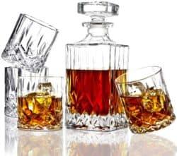 Regalos de cumpleaños para papá - Juego de vasos para el whisky