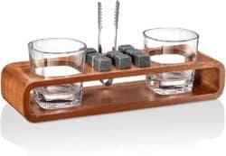 Regalos de cumpleaños para papá - Set de piedras de whisky