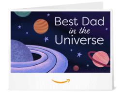 Los Mejores Regalos Para Papá - Tarjeta de regalo de Amazon