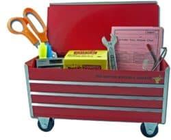 Caja de herramientas para escritorio