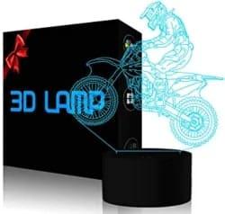 regalos de cumpleaños para hombres - Lámpara 3D