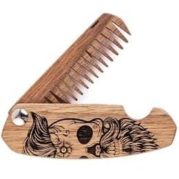 regalos de cumpleaños para hombres - peine de barba