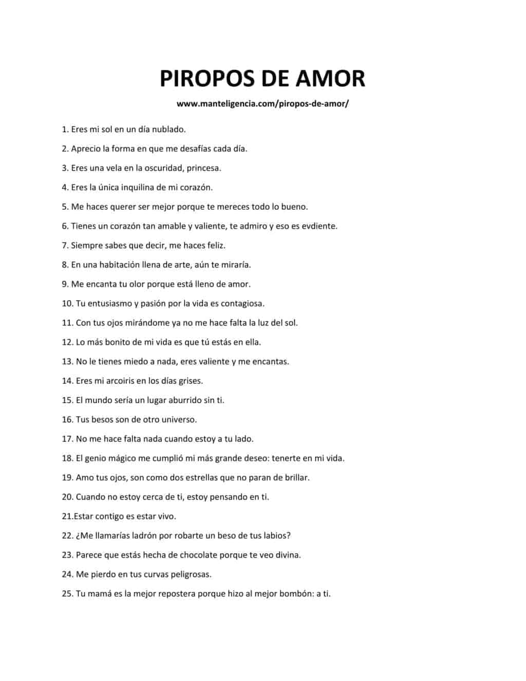 PIROPOS DE AMOR-1