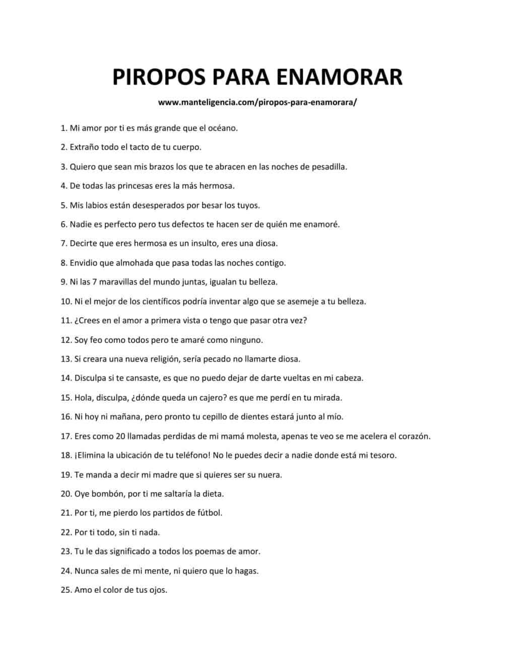 PIROPOS PARA ENAMORAR-1
