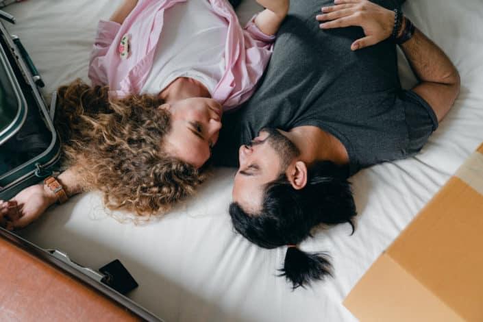 Que casualidad, tu cabello y el mío son perfectos para estar en la misma almohada.jpg