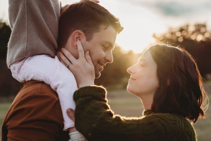 Me siento feliz porque cada día encuentro al amor de mi vida en la misma persona: ¡tú!