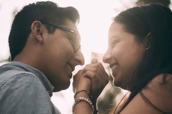 frases de amor para enamorar - Mis ojos han visto cosas hermosas, pero ninguna como tu sonrisa.
