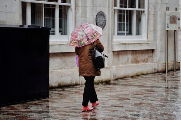 2. ¿Qué te gusta hacer en un día lluvioso?